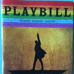 Pride Playbill  Hamilton Austin Scott Denée Benton
